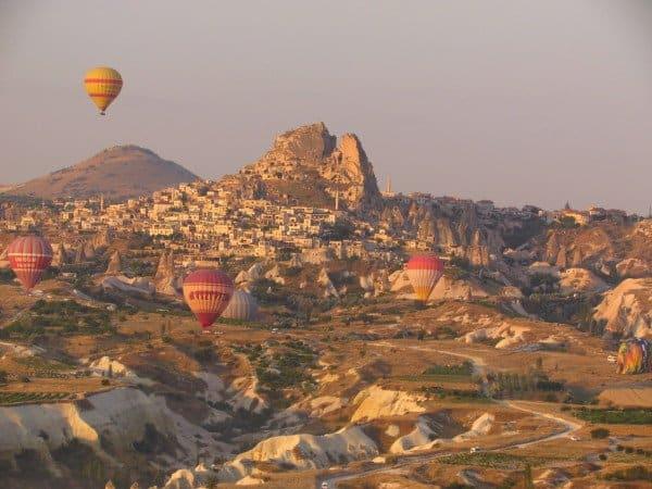 Hotair balloons Cappadocia