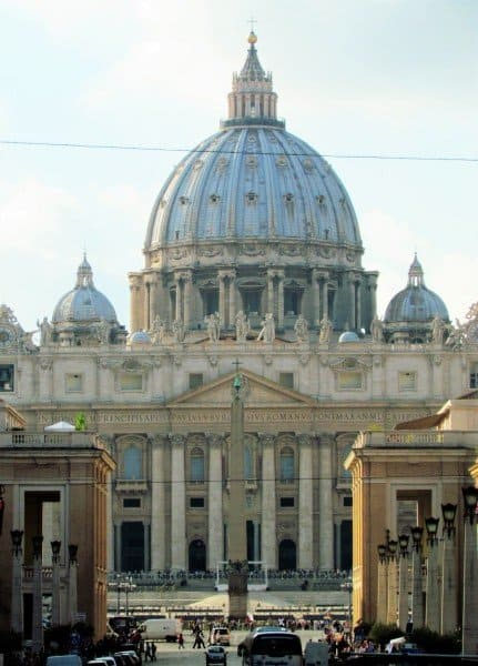 Dome and Front of Saint Peters
