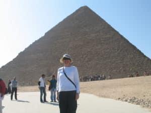 me at pyramids