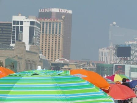 Atlantic City from Beach