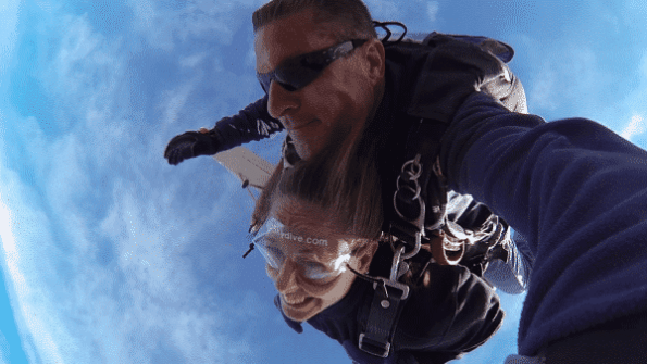 Virgin Skydiver