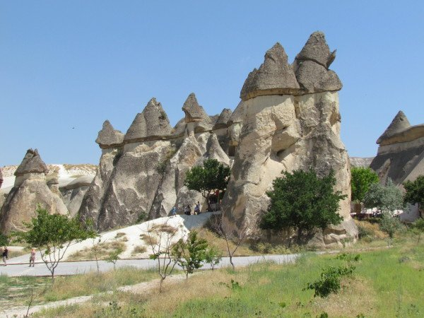Fairy Chimneys at the Valley of Monks
