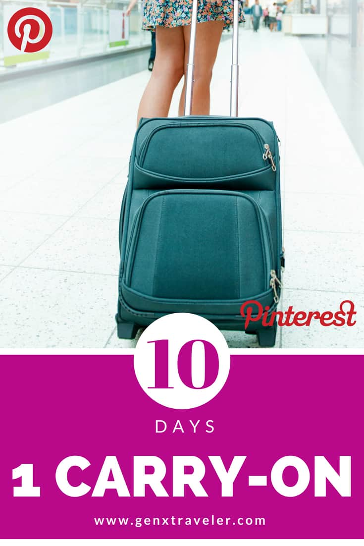 10 days one carry on pinterest