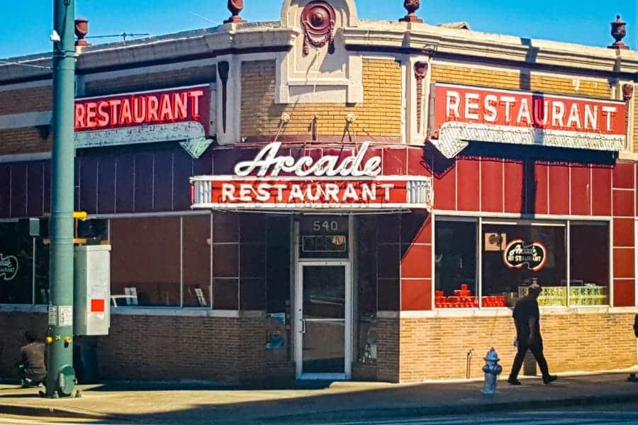 arcade Diner Memphis