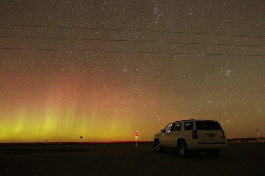 Devils Lake ND Northern Lights