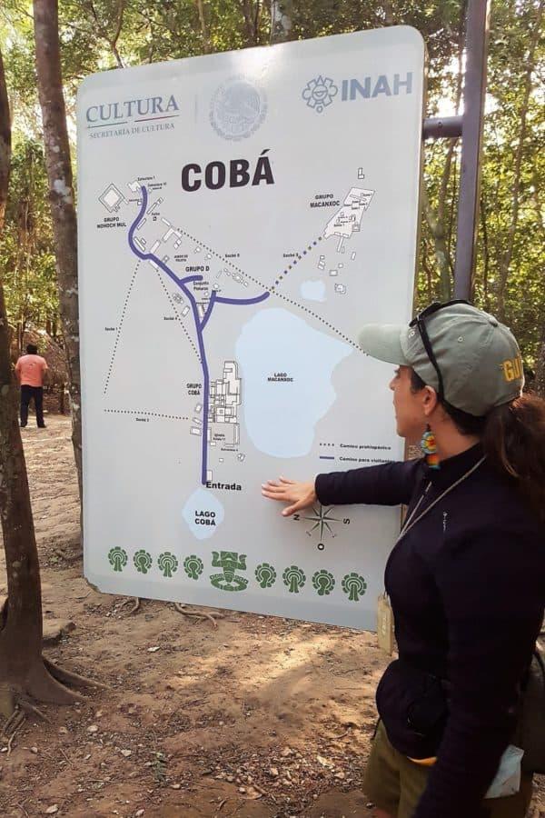 Coba Map