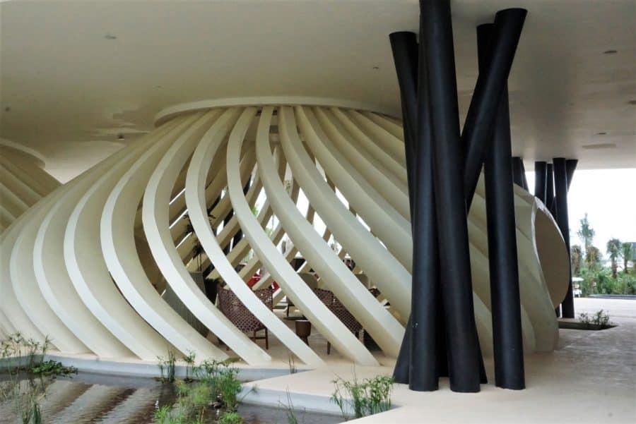 Lobby of Grand Palladium Costa Mujeres