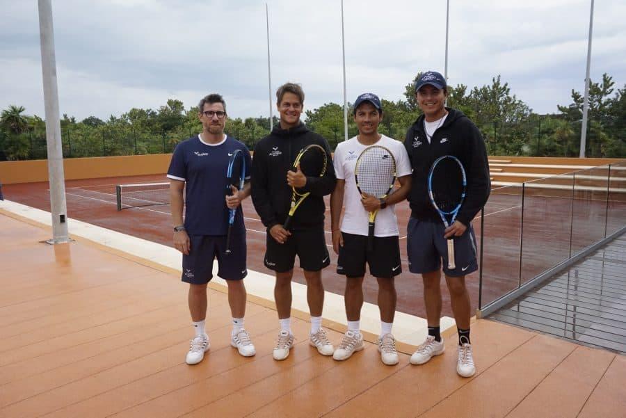 Tennis Pros at Rafa Nadal Tennis Centre Costa Mujeres