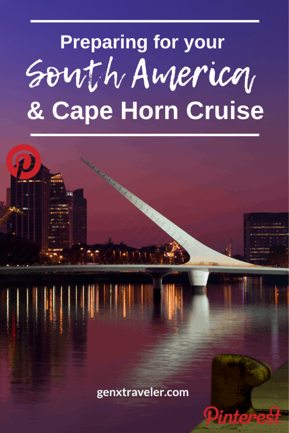 South American Cruise planning