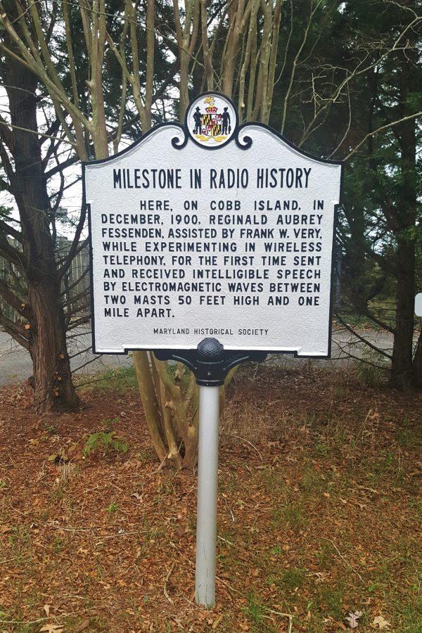 Cobb Island Radio History