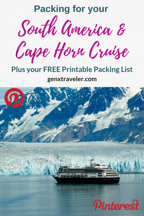 Cape Horn Cruise Packing guide