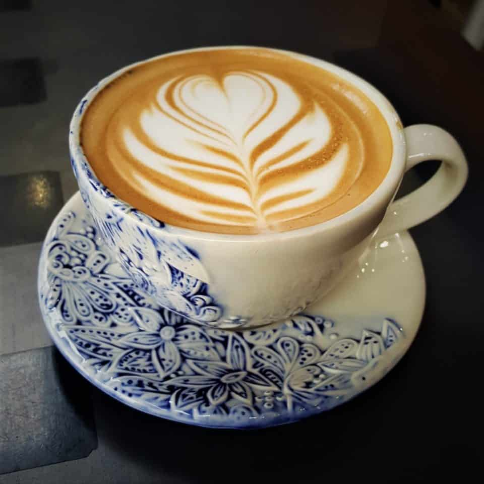 Pretty coffee in San Diego