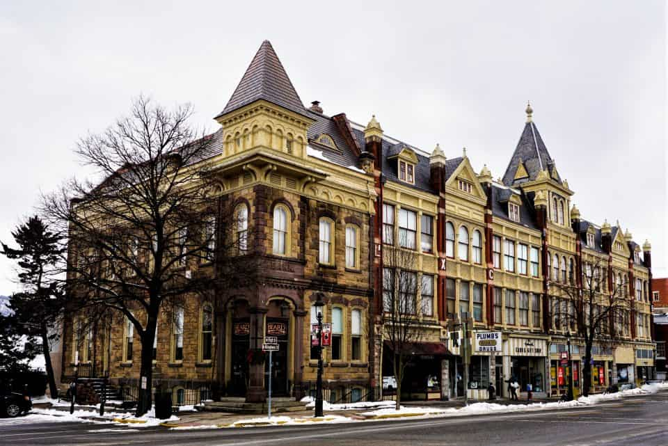 Downtown Bellefonte PA